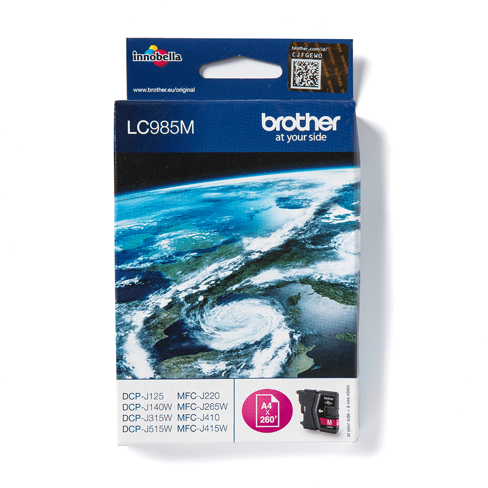 Originele Brother LC-985M magenta inktcartridge