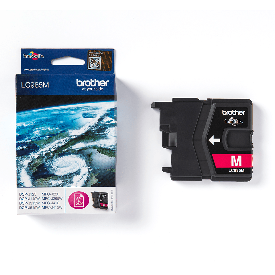 Originele Brother LC-985M magenta inktcartridge 2
