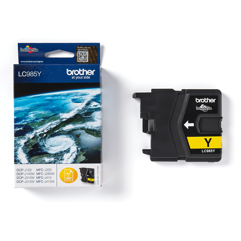 Originele Brother LC-985Y gele inktcartridge 2