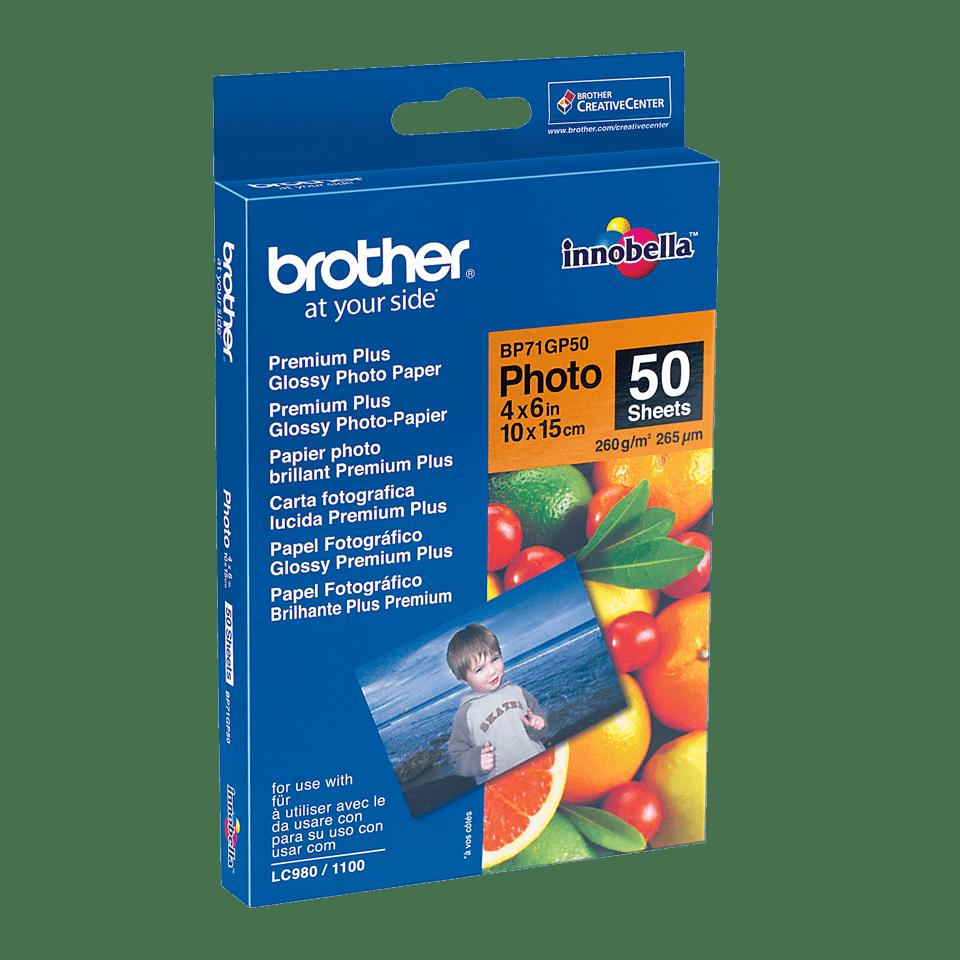 Origineel Brother BP-71GP50 glanzend fotopapier – 10 x 15 cm