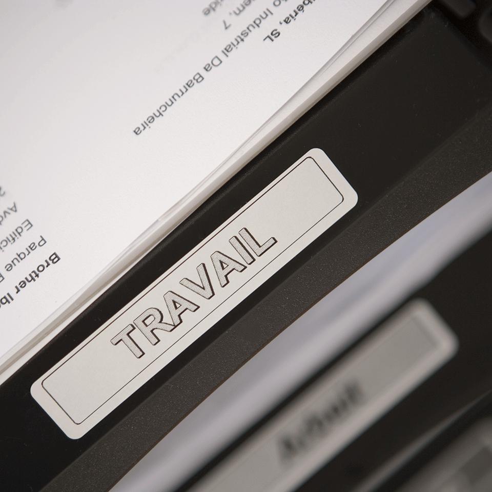 Originele Brother DK-11204 voorgestanst multi purpose label – zwart op wit, 17 mm x 54 mm 2