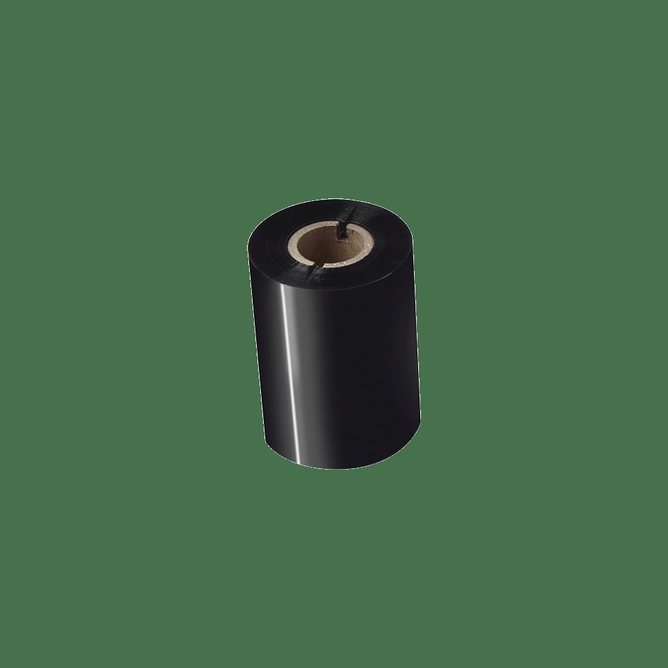 BSP-1D300-080 Thermo-transferrol met premium wax/hars, zwart 2