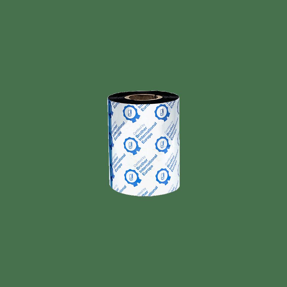 BSS-1D300-080 Thermo-transferrol met standaard wax/hars, zwart 3