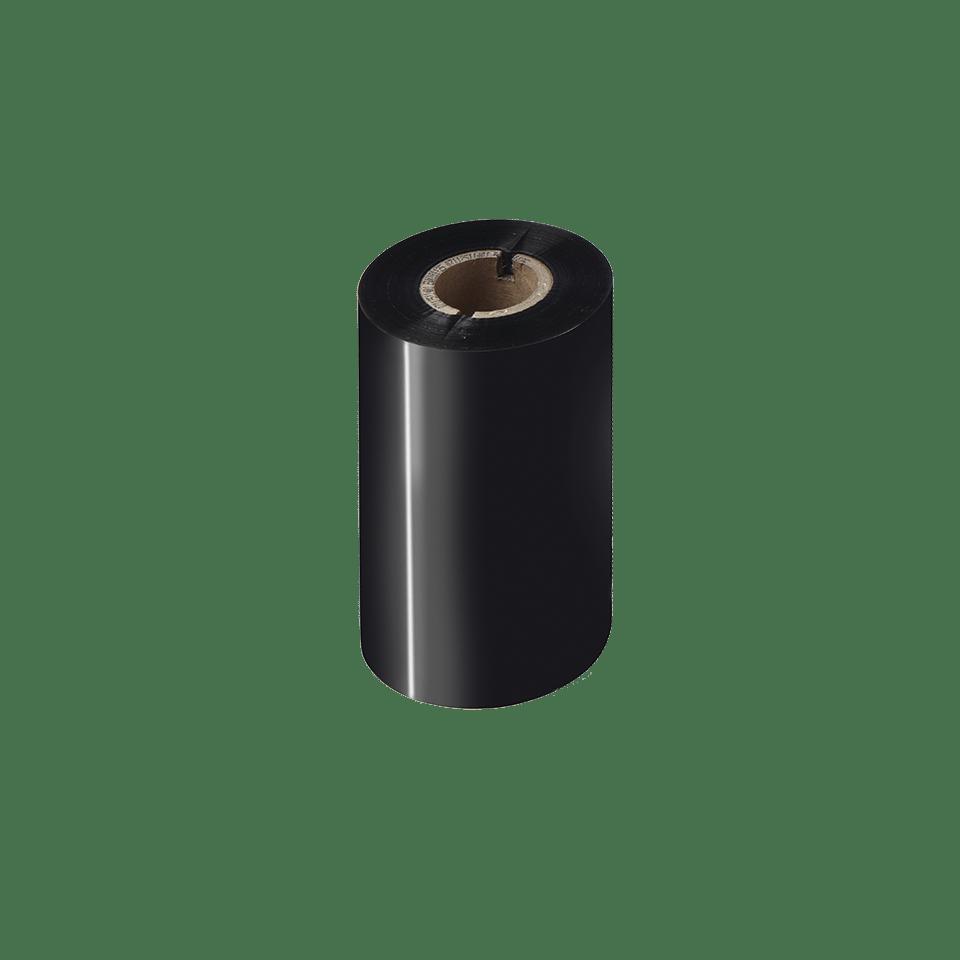 BWP-1D300-110 Thermo-transferrol met premium wax, zwart
