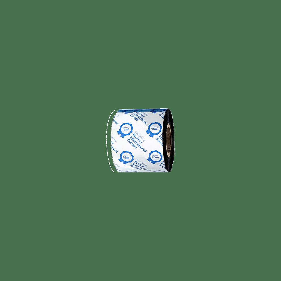 BWS-1D300-060 Thermo-transferrol met standaard wax, zwart