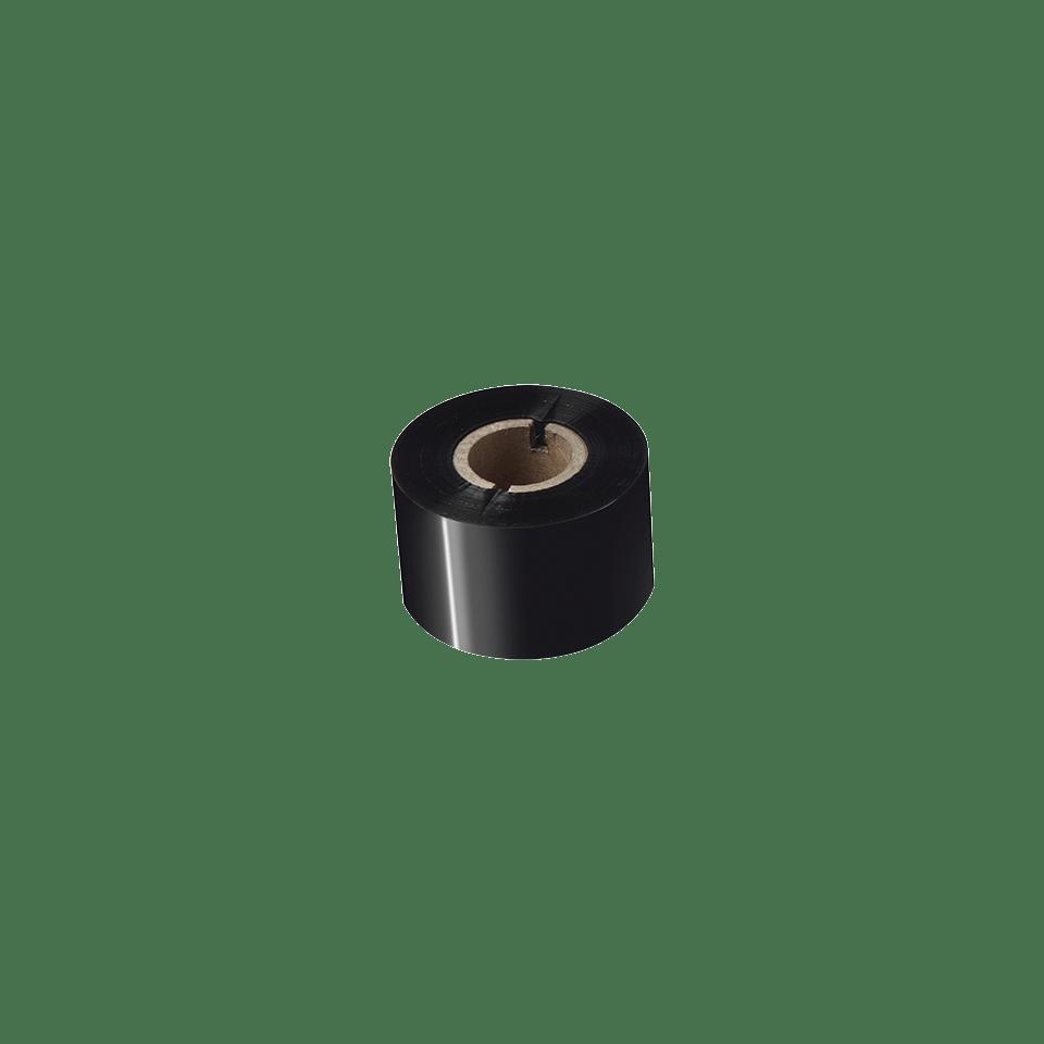 BWS-1D300-060 Thermo-transferrol met standaard wax, zwart 2