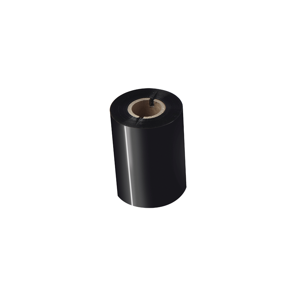 BWS-1D300-080 Thermo-transferrol met standaard wax, zwart 2