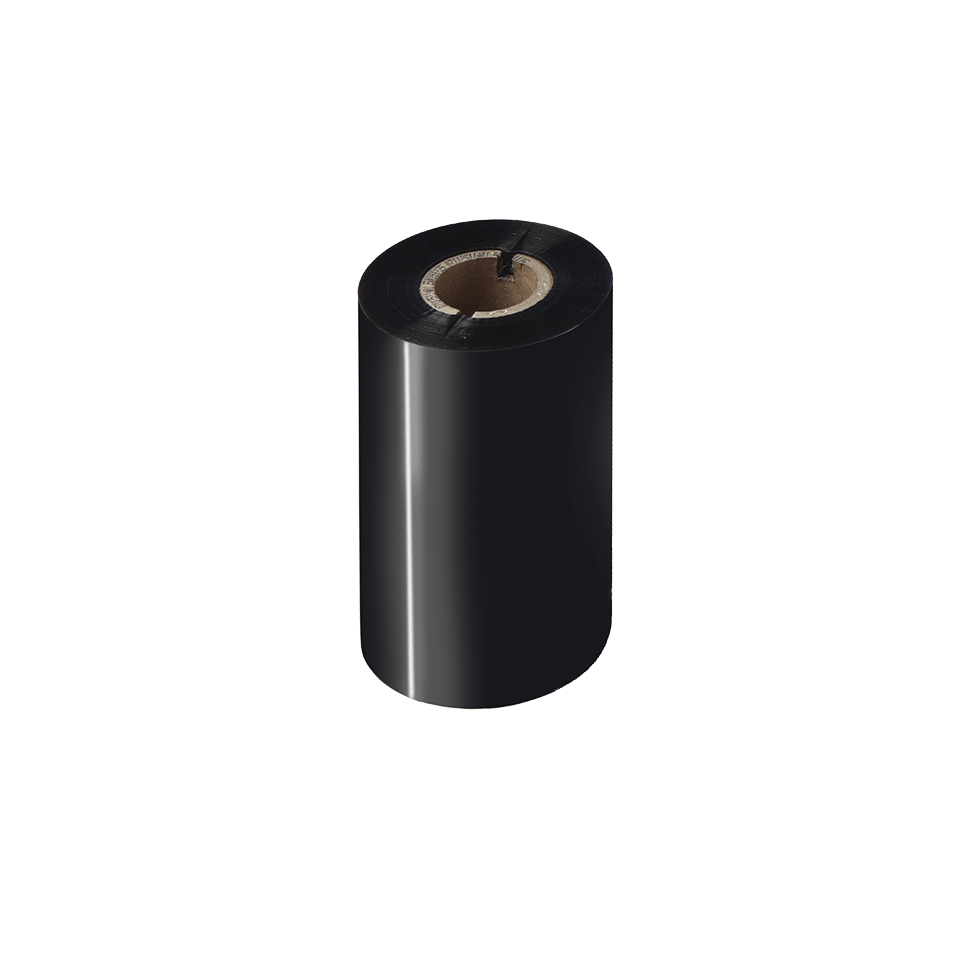 BWS-1D300-110 Thermo-transferrol met standaard wax, zwart