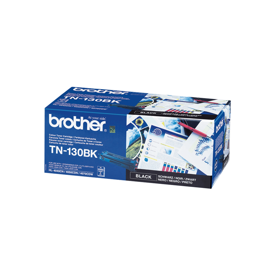 Originele Brother TN-130BK zwarte tonercartridge 2