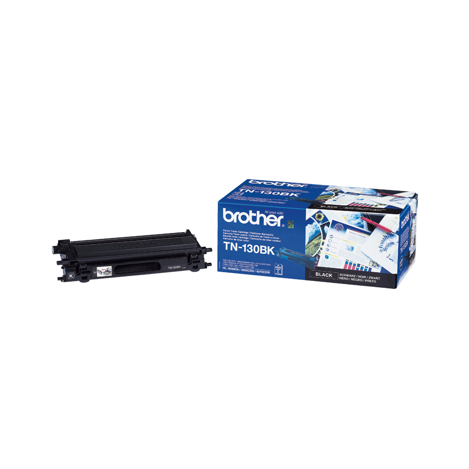 Originele Brother TN-130BK zwarte tonercartridge