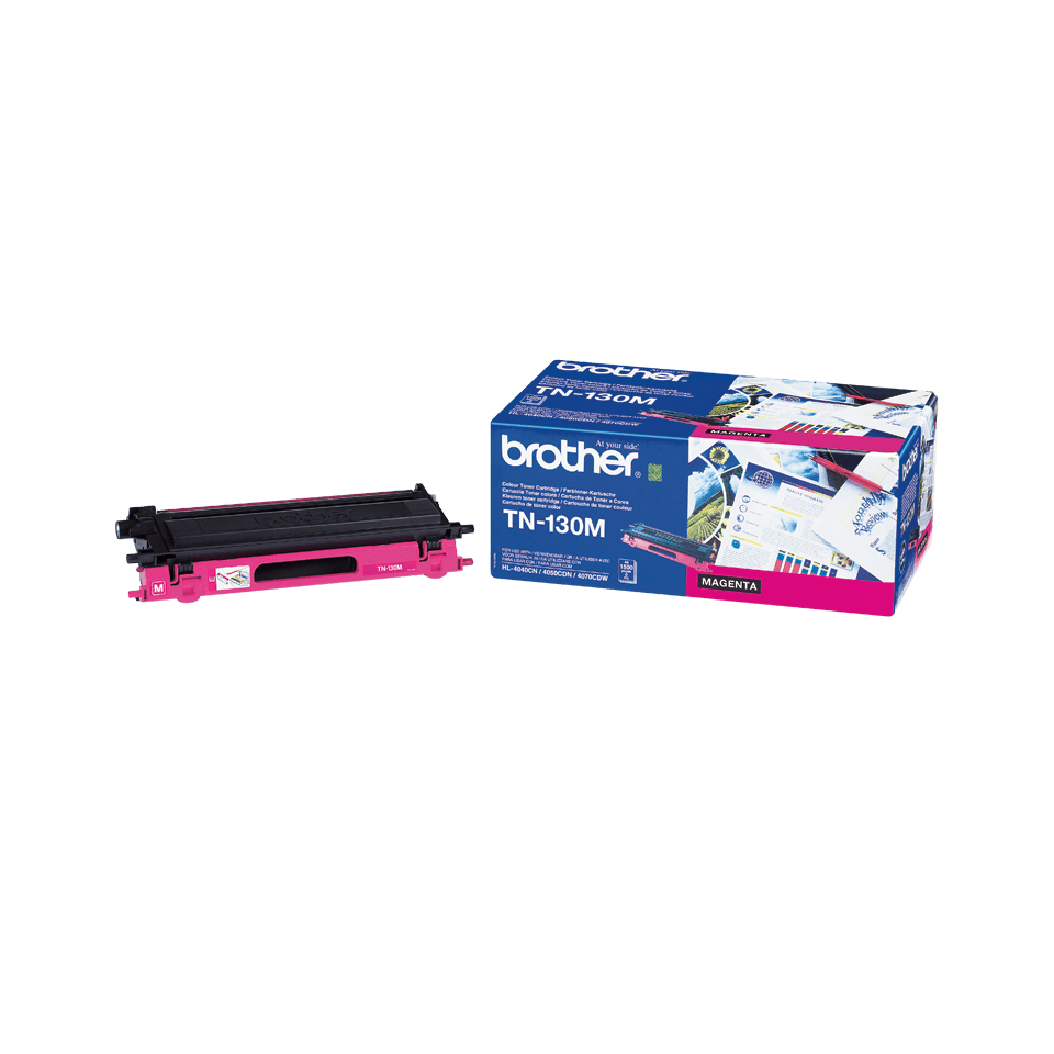 Originele Brother TN-130M magenta tonercartridge 2