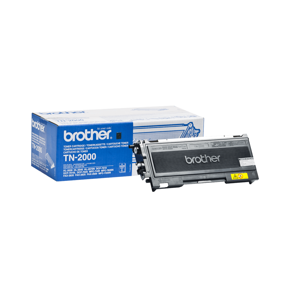 Originele Brother TN-2000 zwarte tonercartridge