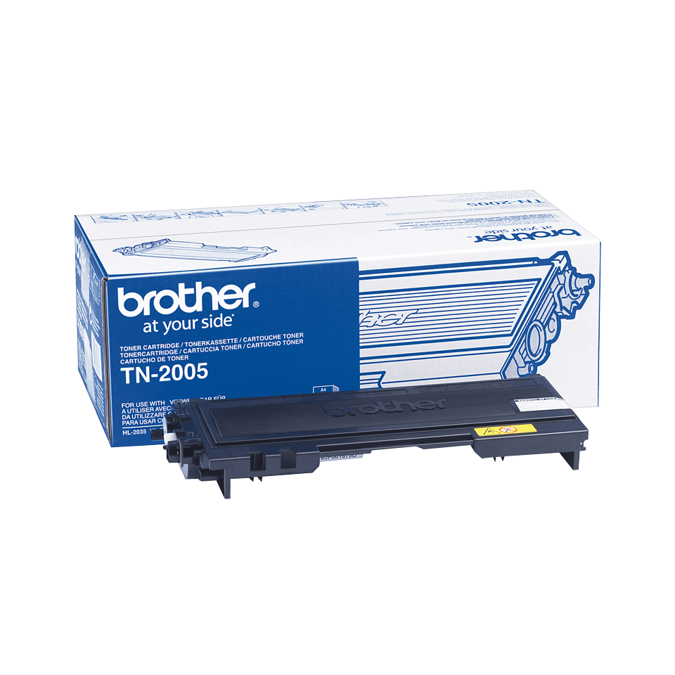 Originele Brother TN-2005 zwarte tonercartridge