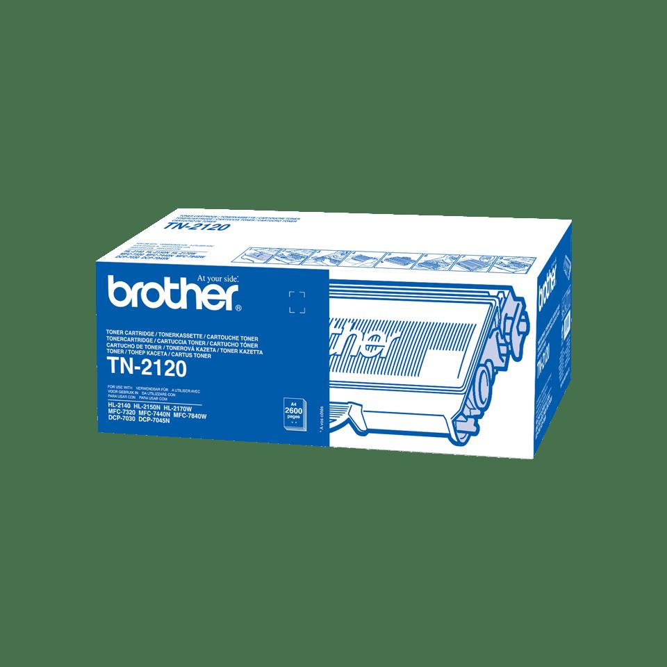 Originele Brother TN-2120 tonercartridge met hoge capaciteit