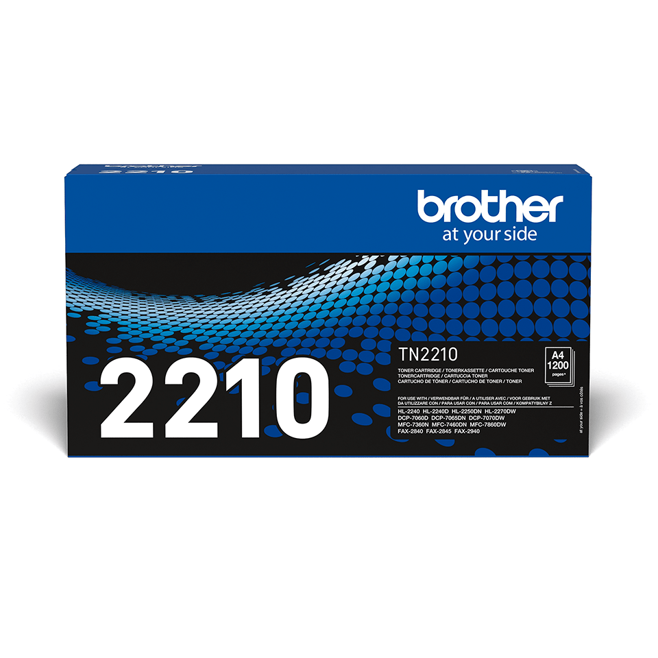 Originele Brother TN-2210 tonercartridge 2