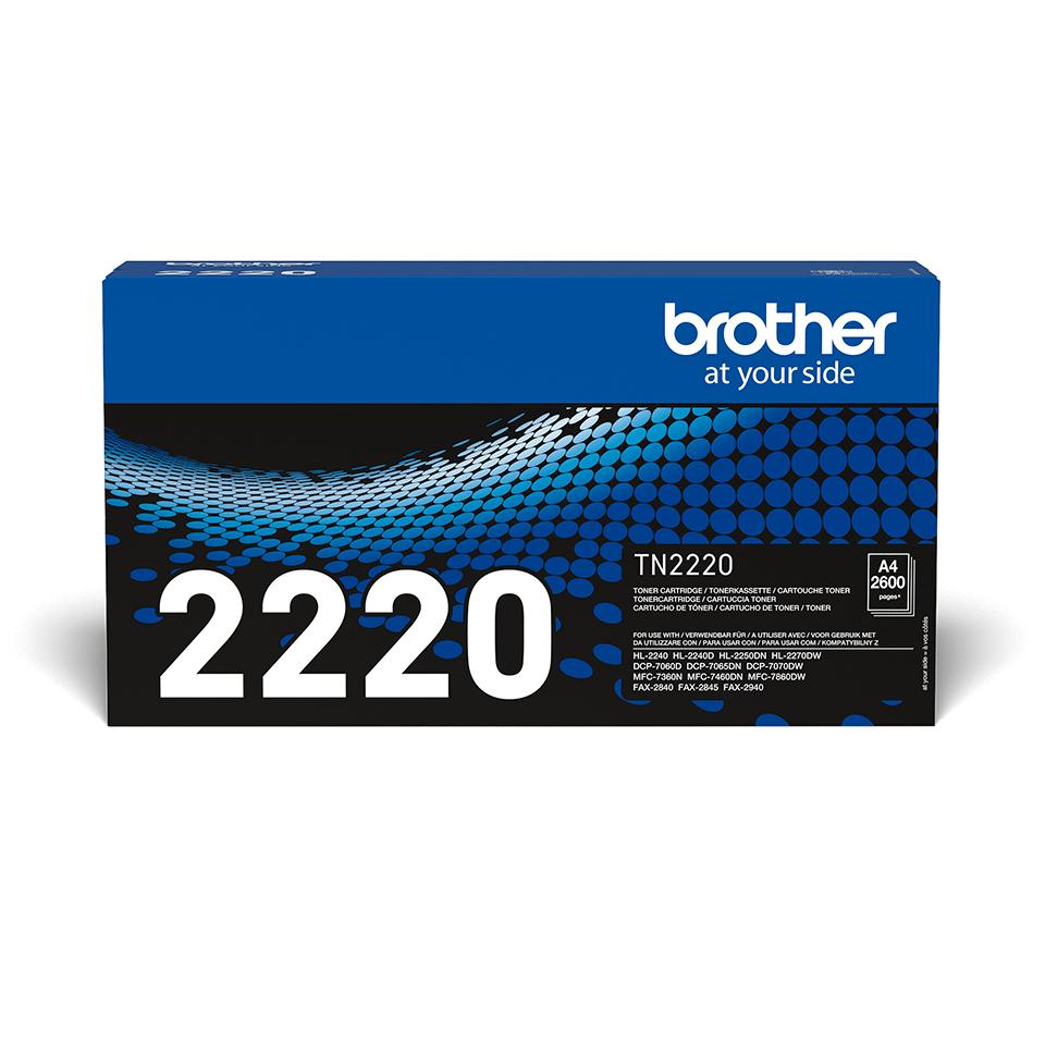 Originele Brother TN-2220 tonercartridge met hoge capaciteit