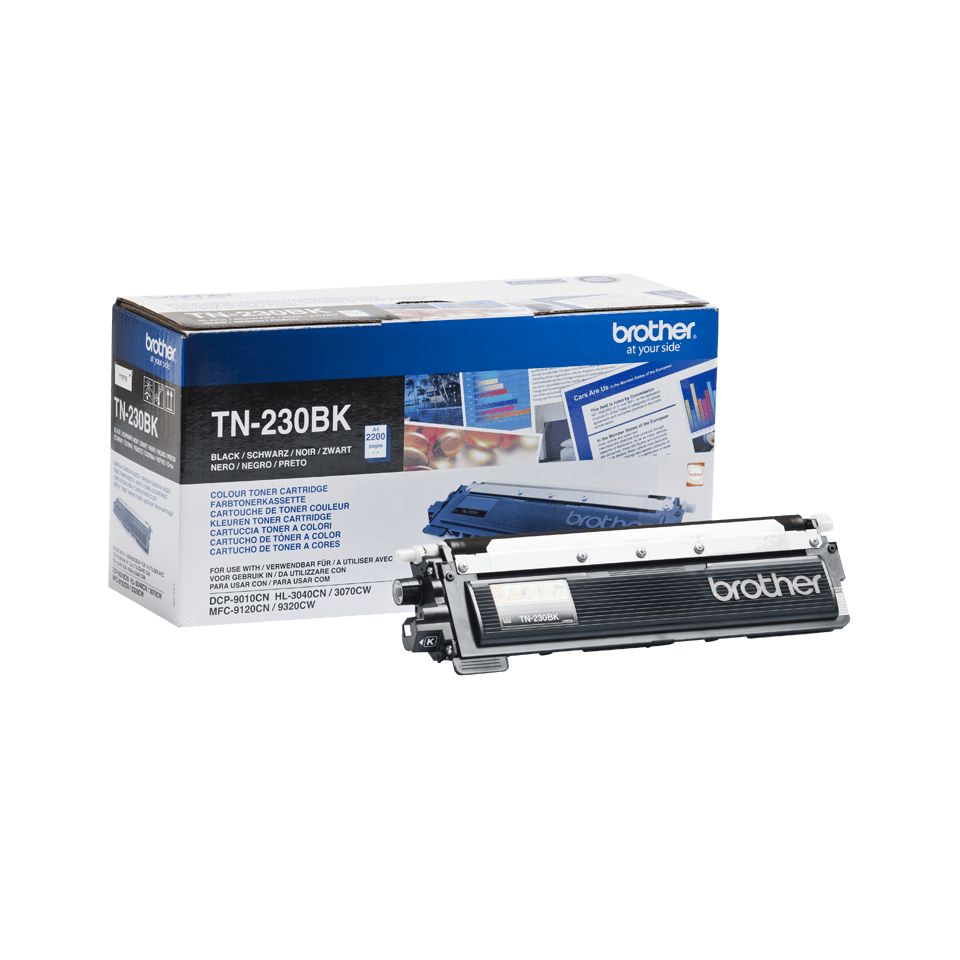 Originele Brother TN-230BK zwarte tonercartridge