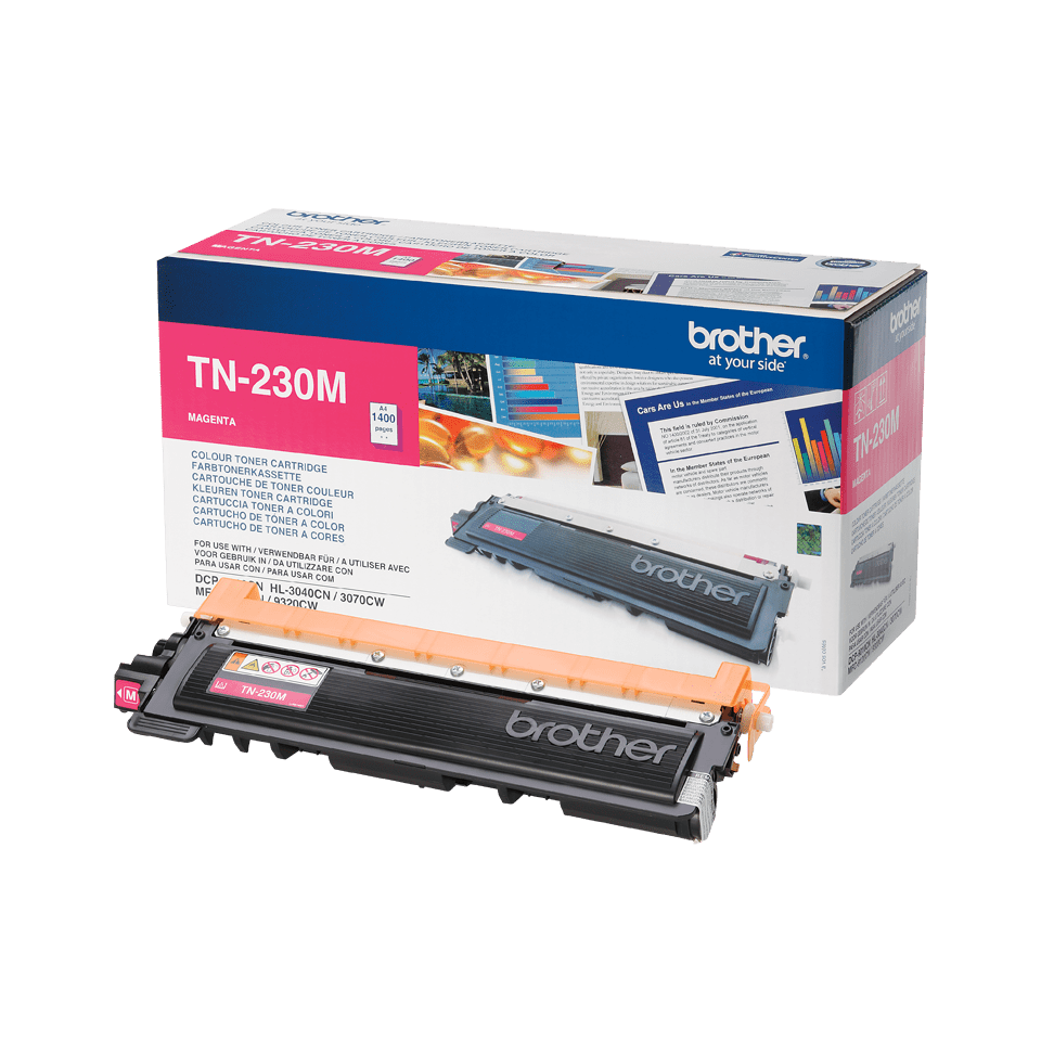 Originele Brother TN-230M magenta tonercartridge