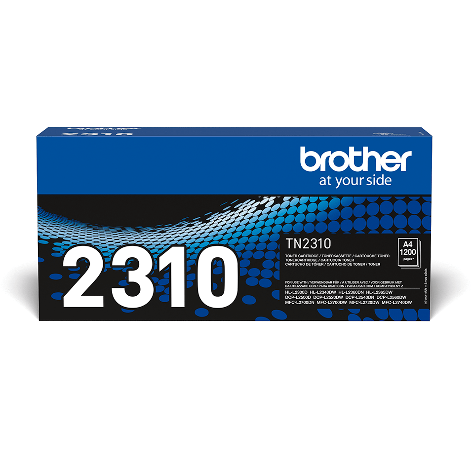 Originele Brother TN-2310 tonercartridge 2