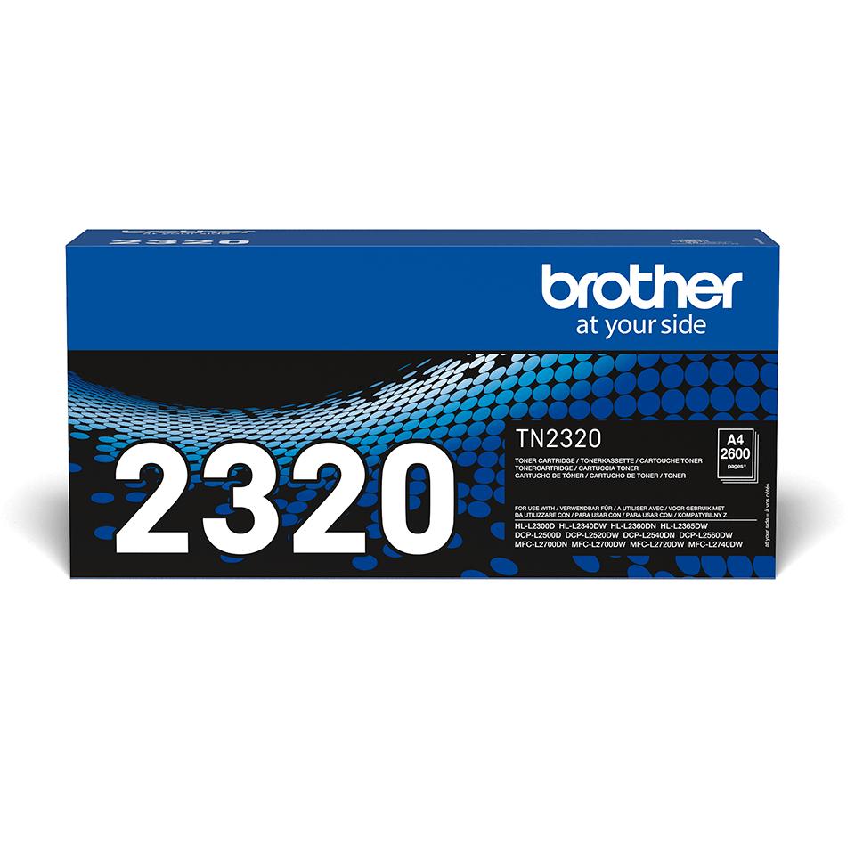 Originele Brother TN-2320 tonercartridge met hoge capaciteit 2