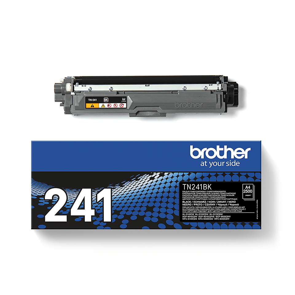 Originele Brother TN-241BK zwarte tonercartridge 2