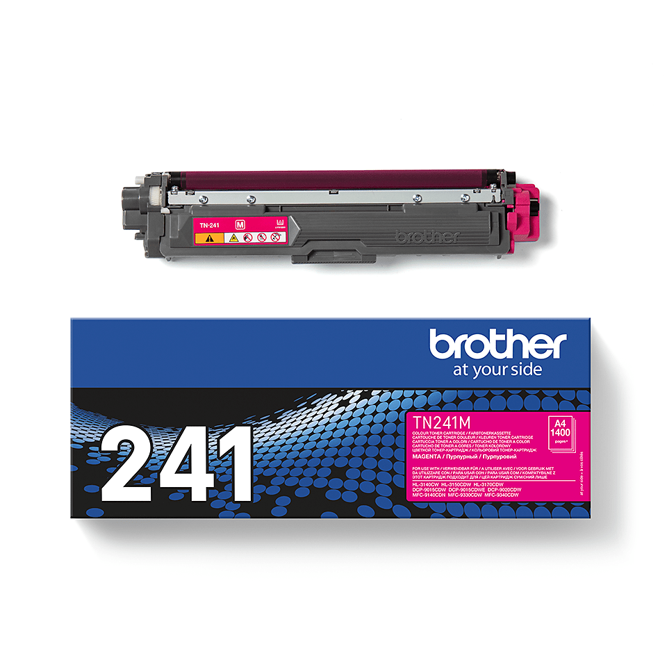 Originele Brother TN-241M magenta tonercartridge 3