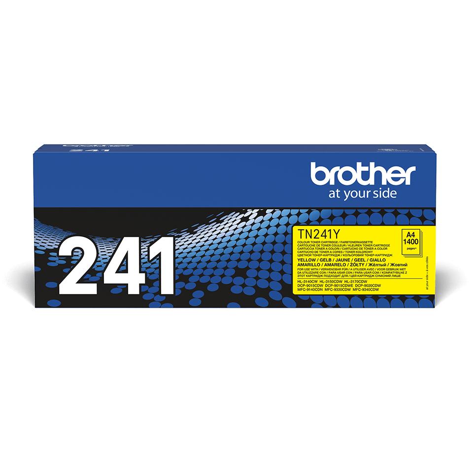 Originele Brother TN-241Y gele tonercartridge 2