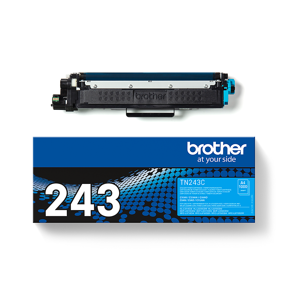 Originele Brother TN-243C cyaan tonercartridge 3