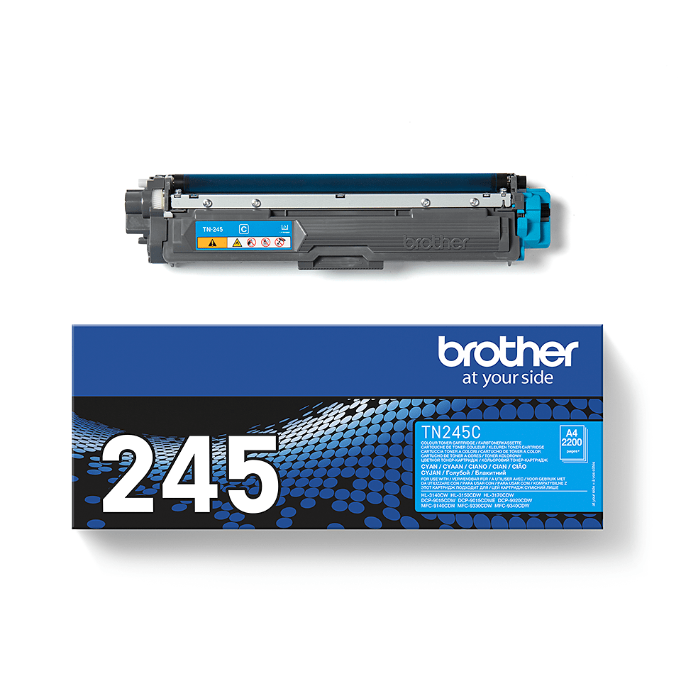 Originele Brother TN-245C cyaan tonercartridge  2