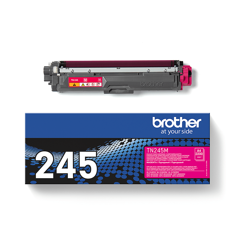 Originele Brother TN245M Tonercartridge – Magenta  2