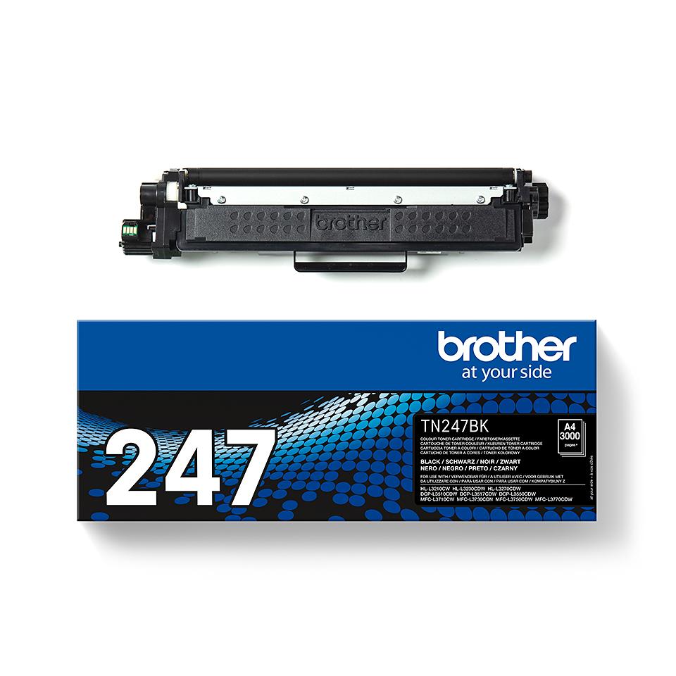 Originele Brother TN-247BK zwarte tonercartridge met hoge capaciteit 3