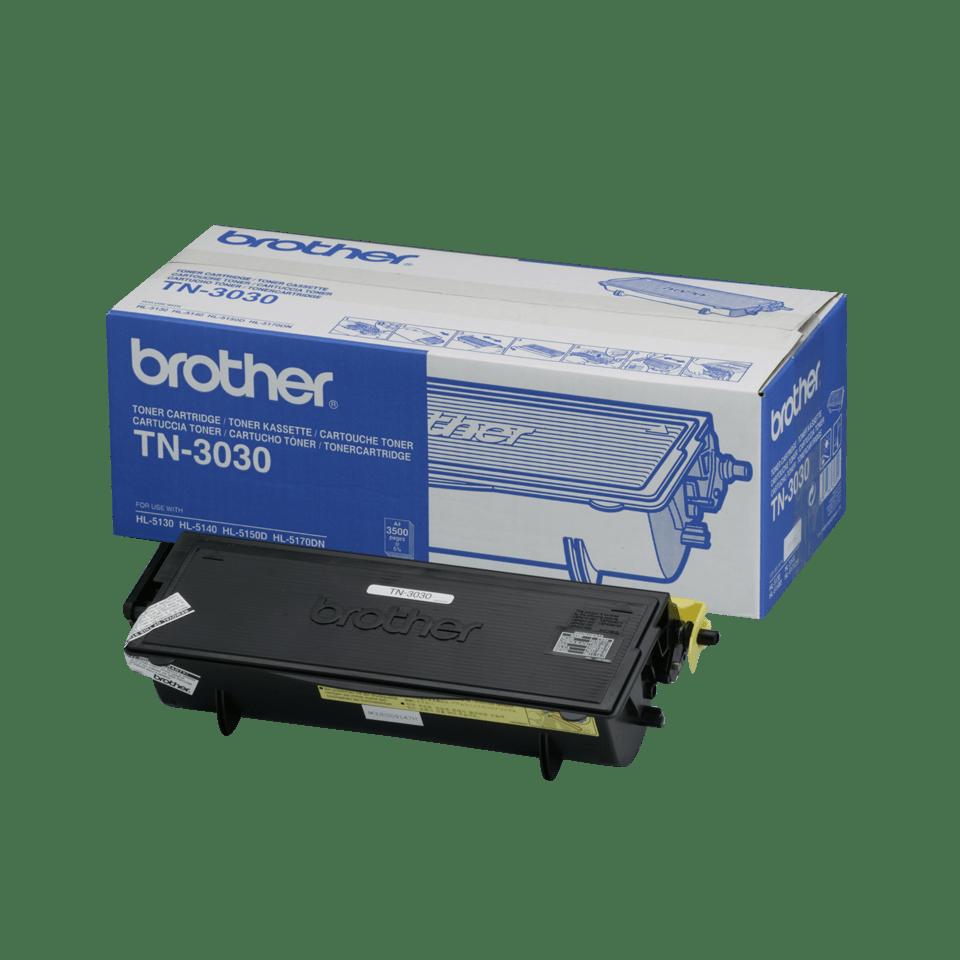 Originele Brother TN-3030 hoge capaciteit tonercartridge – zwart