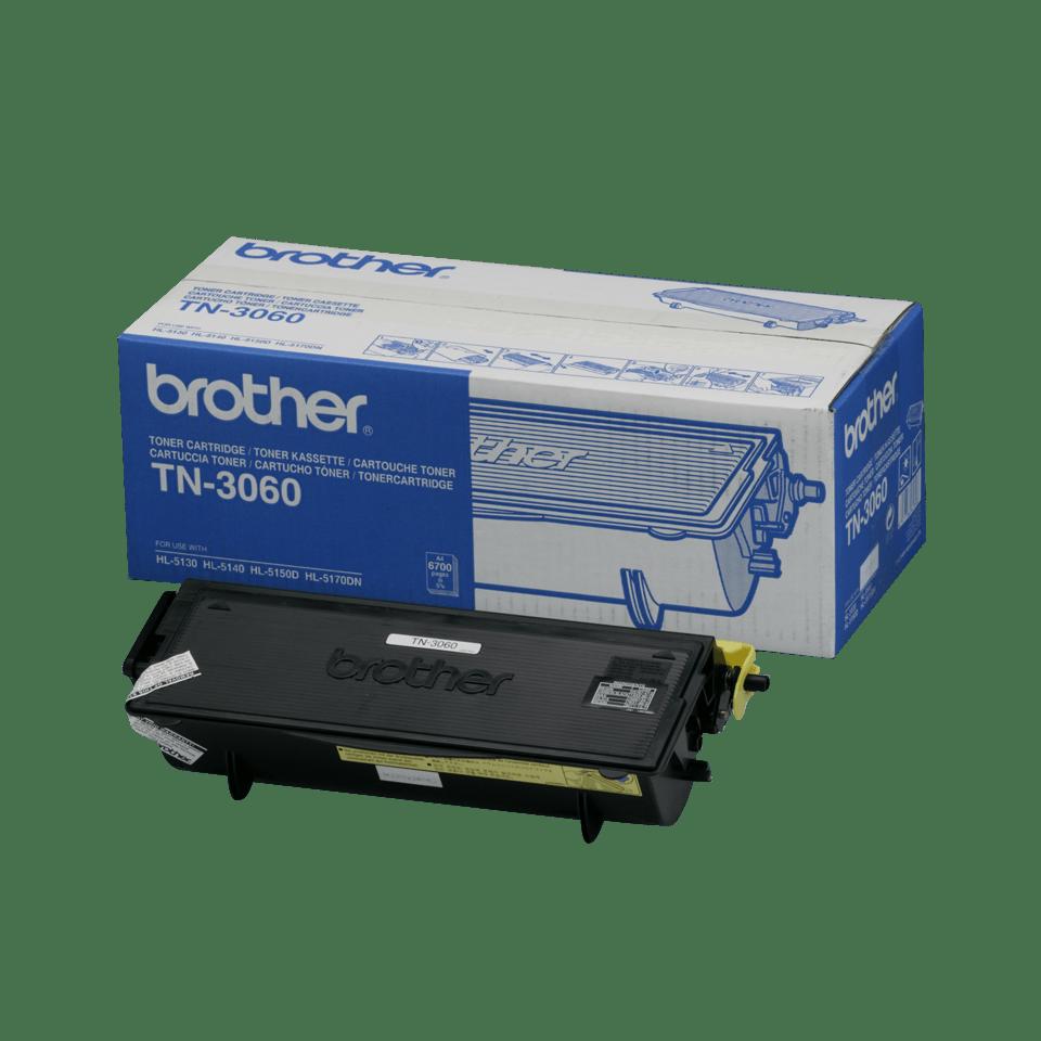 Originele Brother TN-3060 hoge capaciteit tonercartridge – zwart