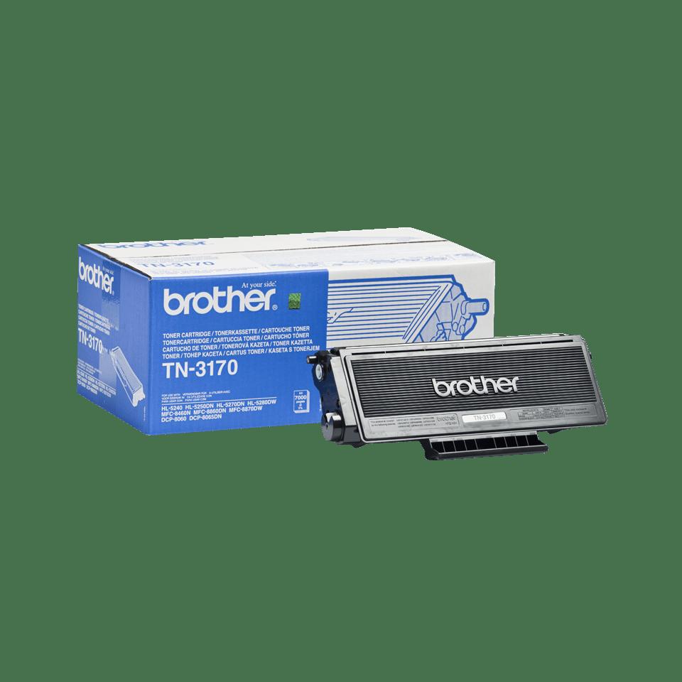 Originele Brother TN-3170 hoge capaciteit tonercartridge – zwart 2