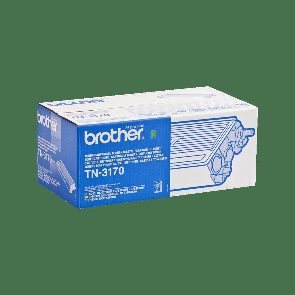 Originele Brother TN-3170 hoge capaciteit tonercartridge – zwart