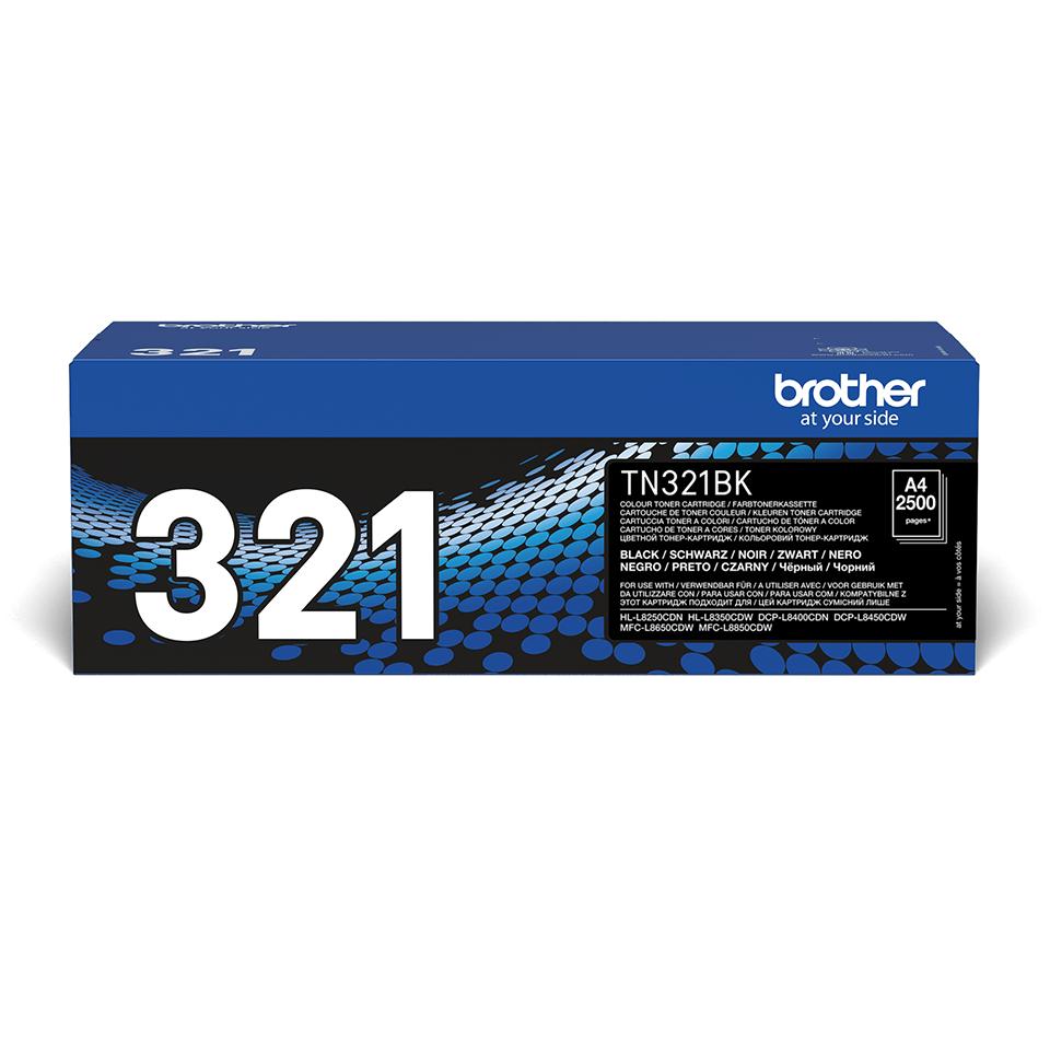 Originele Brother TN-321BK zwarte tonercartridge 2