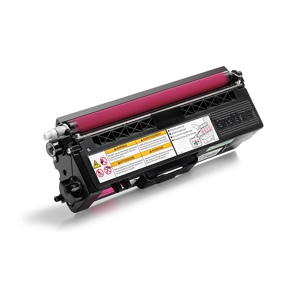 Originele Brother TN-325M magenta tonercartridge 2