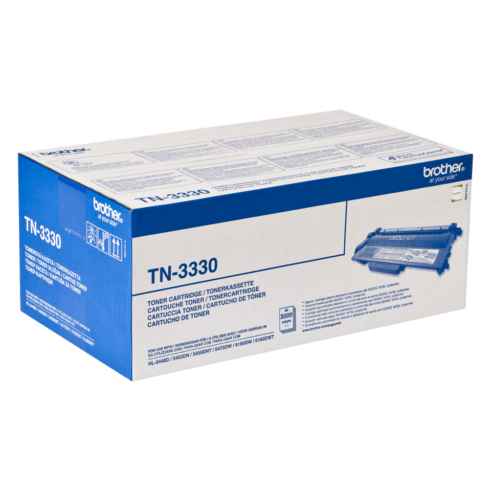 Originele Brother TN-3330 zwarte tonercartridge