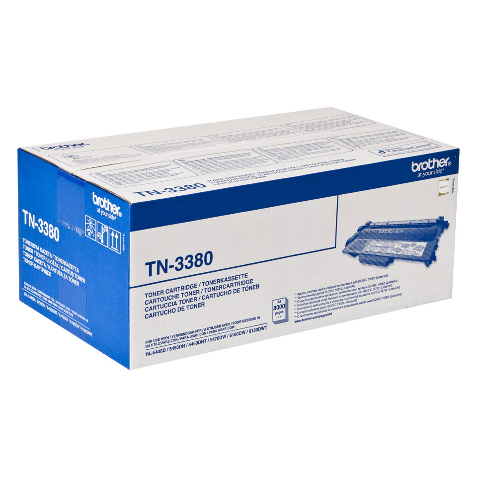 Originele Brother TN-3380 tonercartridge met hoge capaciteit 2