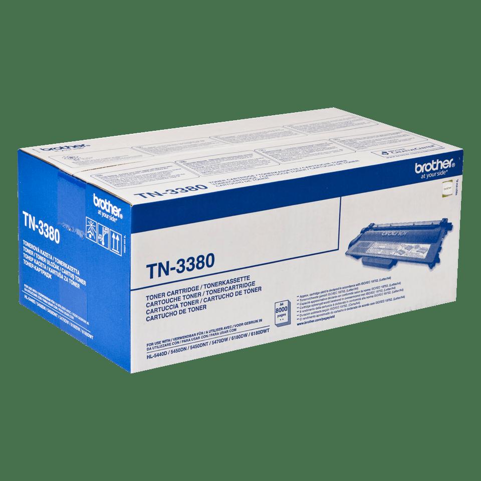 Originele Brother TN-3380 tonercartridge met hoge capaciteit