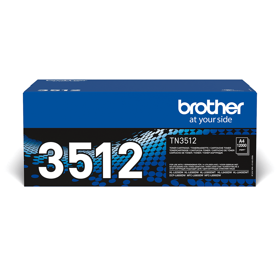 Originele Brother TN-3512 tonercartridge met hoge capaciteit