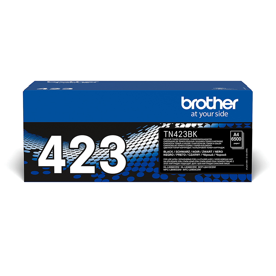 Originele Brother TN-423BK zwarte tonercartridge