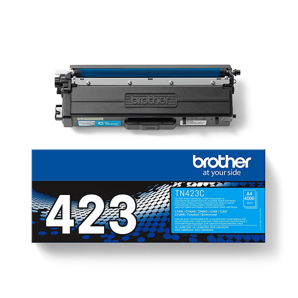 Originele Brother TN-423C cyaan tonercartridge