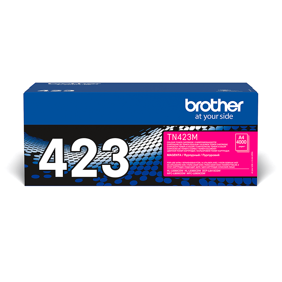 Originele Brother TN-423M magenta tonercartridge