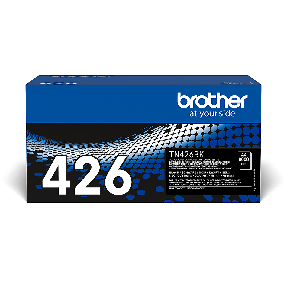 Originele Brother TN-426BK zwarte tonercartridge