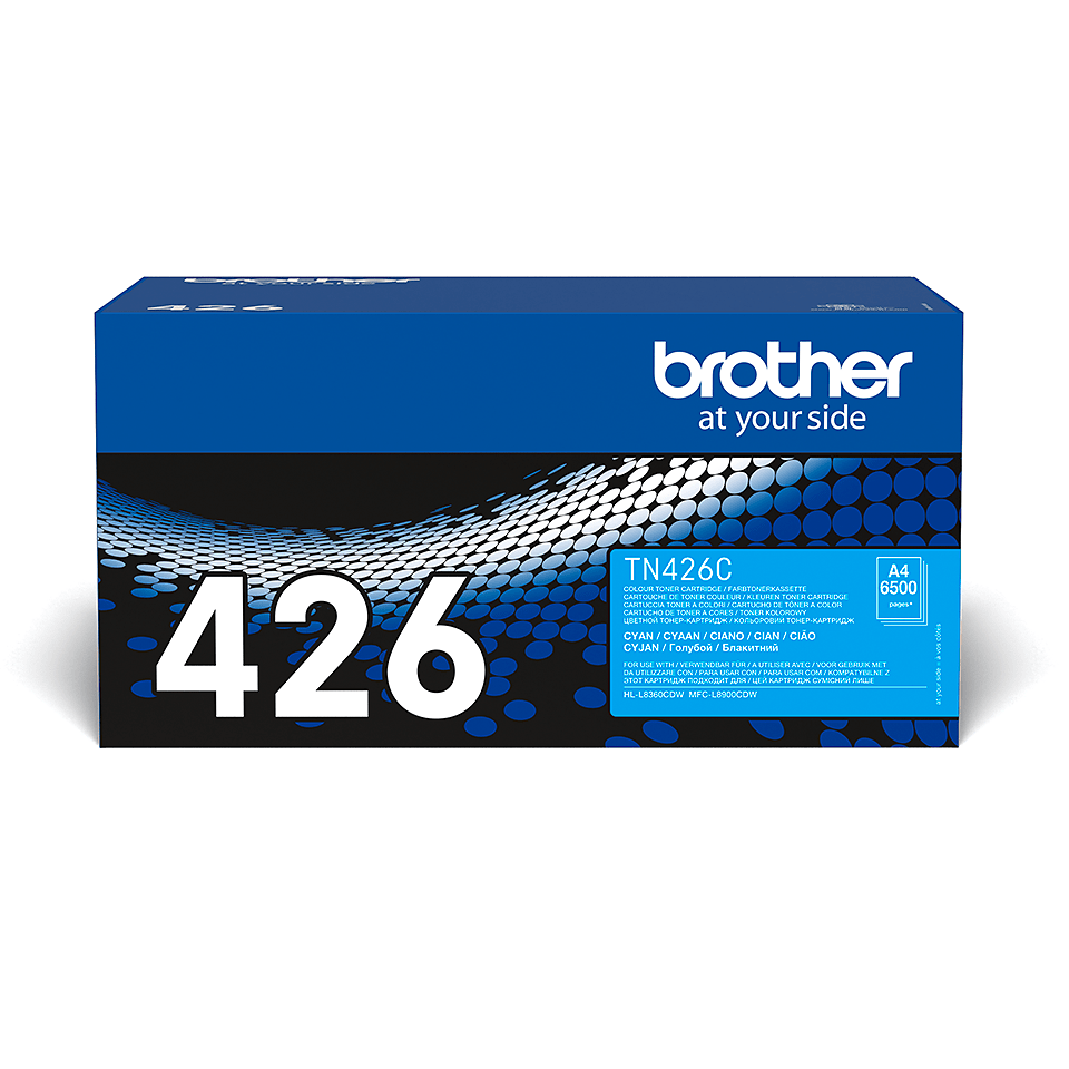 Originele Brother TN-426C cyaan tonercartridge 2
