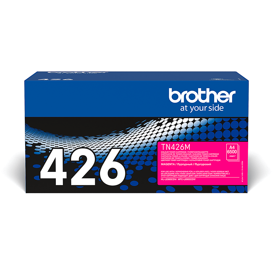 Originele Brother TN-426M magenta tonercartridge