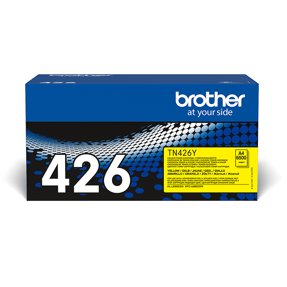 Originele Brother TN-426Y gele tonercartridge