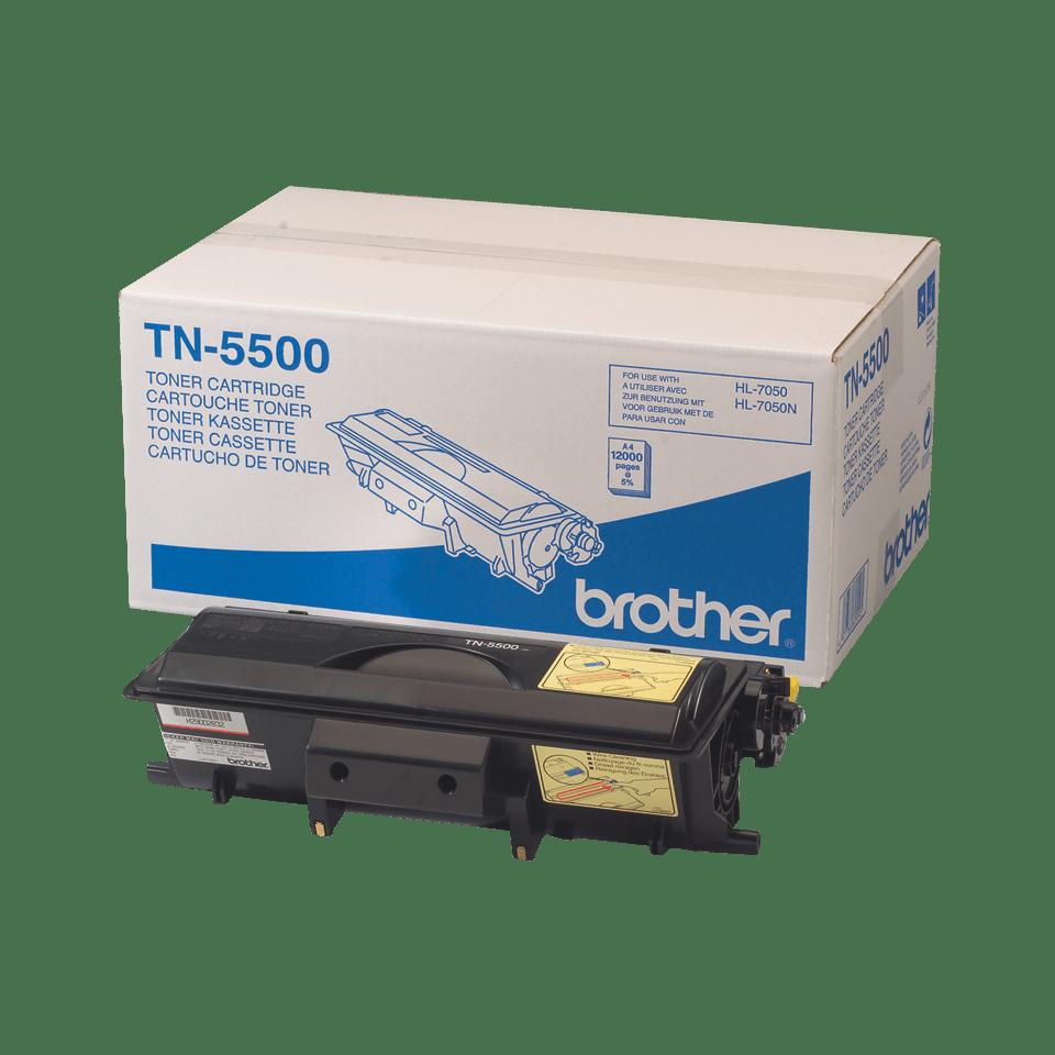 Originele Brother TN-5500 zwarte tonercartridge met hoge capaciteit