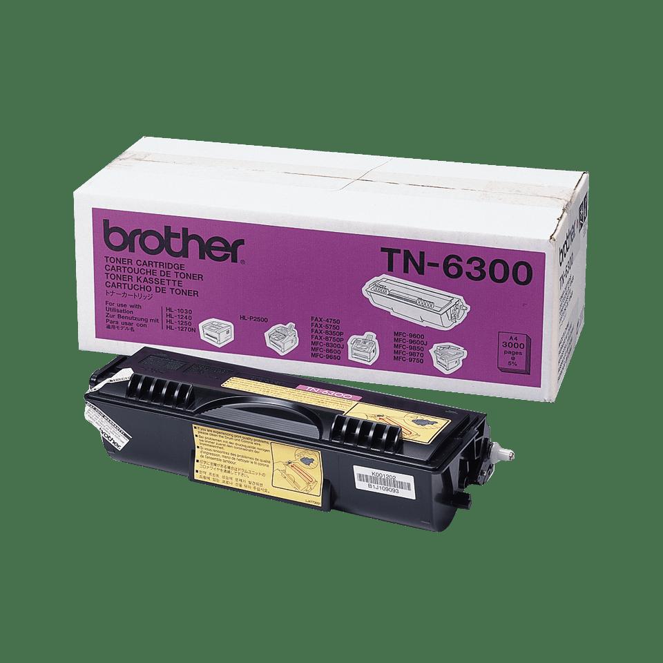 Originele Brother TN-6300 zwarte tonercartridge met hoge capaciteit